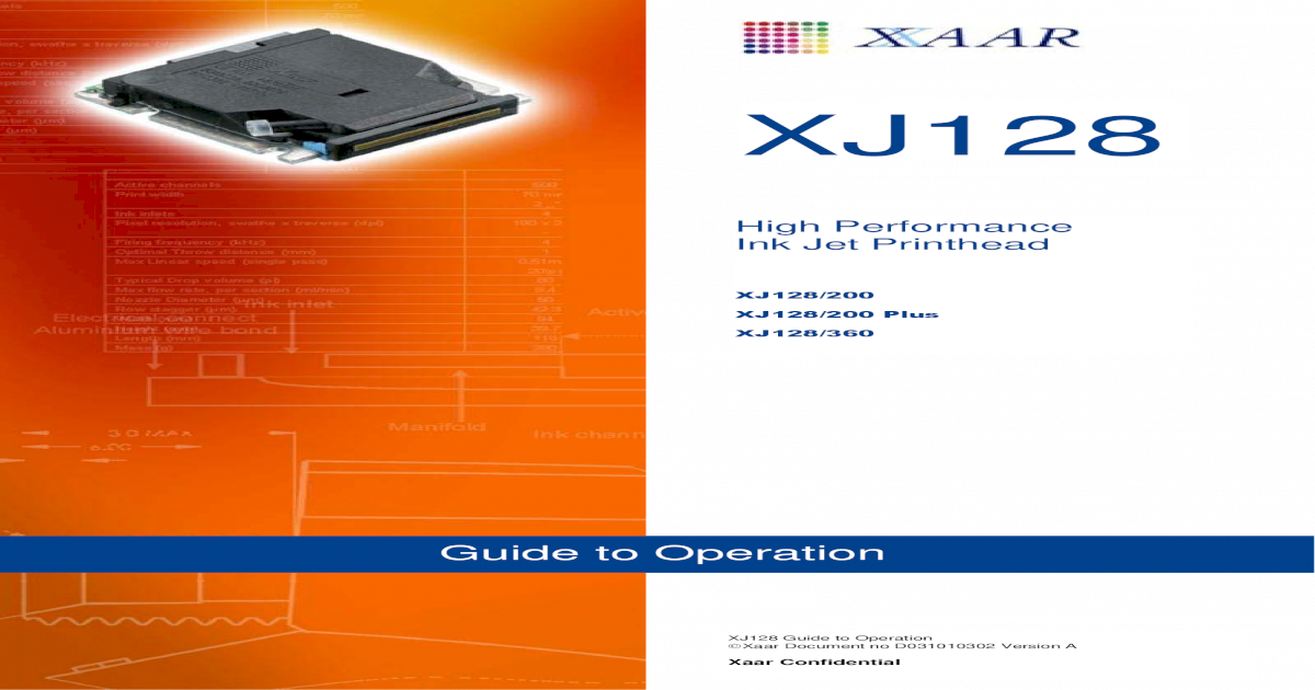 Xaar 128 OpGuide Opt - [PDF Document]